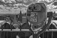 Turn To Clear Vision (Explored) (gimmeocean) Tags: nyc newyorkcity ny newyork manhattan rockefellercenter midtown empirestatebuilding topoftherock 30rock canonefs1022mmf3545usm 30rockefellerplaza