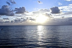 Islamorada Sunrise (a_scarlett) Tags: ocean sunset vacation clouds keys fishing doc islamorada