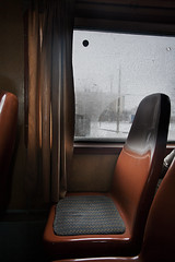 Train (juancarcantabria) Tags: winter snow cold train loneliness seat ev romania canon1740mmf4lusm rumania arad timisoara bracketing canon5dclassic juancarcantabria