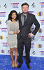 The British Comedy Awards 2012 held at the Fountain Studios - Konnie Huq and Charlie Brooker