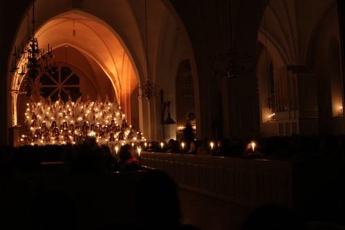 Lucia concert in Växjö