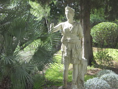 Santiponce (madskills421) Tags: city work tile sevilla spain ruins roman ciudad seville arena espana ruinas amphitheater pillars romana anfiteatro italica santiponce