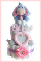 Eeyore Nappy cake (Labours Of Love Baby Gifts) Tags: babygift nappycake nappycakes newbabygifts laboursoflovebabygifts