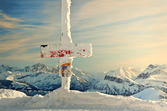 Rigi Kulm (ceca67) Tags: winter mountain alps switzerland gi 2012 kulm
