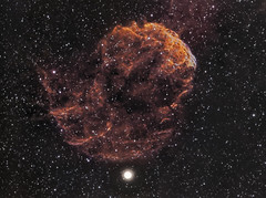 IC443 - The Jellyfish Nebula (2012) (Photonfisher) Tags: ic443 Astrometrydotnet:status=solved Astrometrydotnet:version=14400 sharpless248 Astrometrydotnet:id=alpha20121299638733 thejellyfishnebula