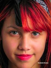 rica Milena (Vanderlei Gomes Fotografia :-]) Tags: brazil woman girl rock brasil model mulher centro modelo redhead teen corset roll garota paulo menina so ruiva colegial ch rockeira viadulto espartilho
