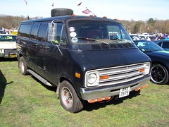 Dodge Custom van