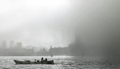 triste Venezia (invitojazz) Tags: venice fog boat nikon barca laguna nebbia venezia sangiorgio d90 invitojazz vitopaladini