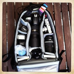 Gear I brought for my trip. #Nikon #D700 #lens (24-70, 50 & 135) #SB800 #x100 #phottix Ares #filter (suzaidee) Tags: 50mm nikon fuji noflash filter finepix fujifilm 135mm lowepro sb800 x100 135mmf2 d700 phottix hipstamatic inas1969film janelens
