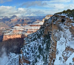 Grand Canyon National Park: Snow - December 24...