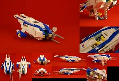 Ascaphi V1 (NIRDIAN) Tags: lego space scifi racer garc frogspace frogspacenorthernsector