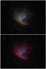 NGC 281 Pacman in LRGB & HST palette (Chuck Manges) Tags: sky night stars ed star space ngc telescope nebula astrophotography pacman orion astronomy deepspace refractor 102mm 281 deepsky apochromatic nebulosity Astrometrydotnet:status=solved Astrometrydotnet:version=14400 qhy9m ed102t startools germanequatorial Astrometrydotnet:id=alpha20121270276880