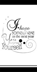 new year wish (Gaborovna) Tags: typography design graphic you text newyear surprise font erika wish typo fonts somewhere yourself 2012 ihope horvath 2013 gaborovna inthenextyear