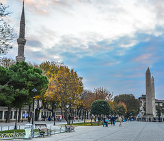 Obelisk of Theodosius and the Walled Obelisk in Istanbul Turkey (mbell1975) Tags: turkey ancient europe roman iii trkiye istanbul trkei egyptian obelisk pharaoh former ottoman now turkish emperor sultanahmet walled trk constantinople theodosius hippodrome meydan tutmoses