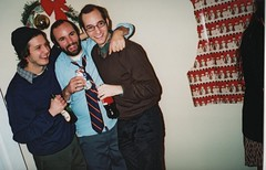 Buds (Yeti__) Tags: party holiday boys beer buds olympusxa2 fujicolor400