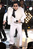 PSY performs in Times Square during New Years Eve celebrations in New York, NY Featuring: PSY