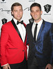 New Year Eve party at 1 Oak Nightclub at The Mirage Resort and Casino Las Vegas Featuring: Lance Bass, Michael Turchin