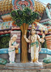 In the Vimanam of Subramanyar shrine (Raju's Temple Visits) Tags: thiru arisili