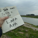 """Today is for Lara Apa <a style=""""margin-left:10px; font-size:0.8em;"""" href=""""http://www.flickr.com/photos/59134591@N00/8350080440/"""" target=""""_blank"""">@flickr</a>"""