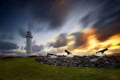 Wollongong Lighthouse (damien.lee) Tags: sunset golden australia lee filters southcoast wollongong canons canon5dmk2