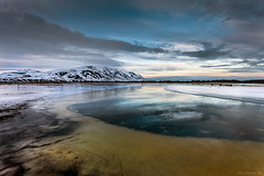 Tindastll (Frijfur M.) Tags: winter sunset mountain snow reflection ice water colors clouds iceland sland skagafjrur greatphotographers saurkrkur tindastll canonef1740 norvesturland canon5dmarkii mygearandme mygearandmepremium mygearandmebronze mygearandmesilver mygearandmegold mygearandmeplatinum mygearandmediamond