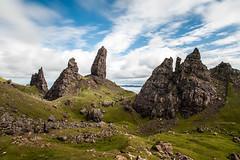 (Attila Pasek) Tags: sky cloud mountain rock scotland isleofskye longexposuretime theoldmanofstorr