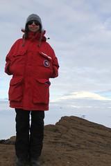 """Natalie and Mt Erebus • <a style=""""font-size:0.8em;"""" href=""""http://www.flickr.com/photos/27717602@N03/8362894075/"""" target=""""_blank"""">View on Flickr</a>"""