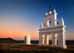 La Peña sunset (Juampiter) Tags: