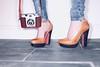 Film & Heels (Rick Nunn) Tags: camera hot sexy girl floor kodak flash rick jeans heels slate nunn ringflash spadge
