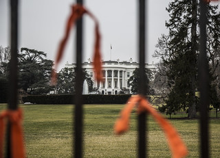 Witness Against Torture: Ribbons by the White House