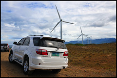 white suv (walbat) Tags: windmill greenpower cleanenergy