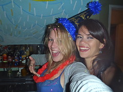 Chicas Bonitas (The Travelin Chicks) Tags: birthday trip travel party vacation southamerica smile hostel quito ecuador chelsea culture partying birthdayparty adventure backpacking babes blonde chicas chicks traveling brunette backpacker travelers traveler backpackers colombiana traveladventure hostelparty hostelbar travelinchucks chelseaosborn vibeshostel travelinchicks
