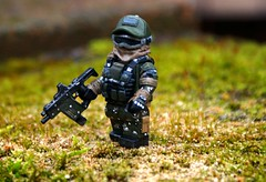 Ghost Recon: Future Solider 30K Minifigure (A Civilian) Tags: brick outside paint lego citadel painted ghost tiny custom affliction 30k tactical recon brickarmy