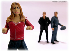Rose Tyler (Rooners Toy Photography) Tags: who doctorwho bbc scifi sciencefiction thedoctor timelord captainjack billiepiper christophereccleston rosetyler jackharkness johnbarrowman 9thdoctor characteroptions rooners captainjackharkeness