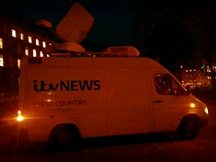 16 Jan (eaglevsshark1986) Tags: news college night bristol nighttime westcountry itv collegegreen newsvan itvnews flickrandroidapp:filter=java