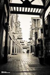 Old paved streets of Bur Dubai (Sajeesh KV) Tags: old paved streets burdubai market pillar beam wooden