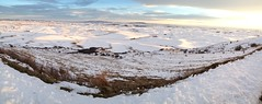 Palouse Pano from Steptoe Butte (Ryan McGinty) Tags: statepark winter usa snow washington farmland hills fields whitmancounty steptoebutte ryanmcginty uploaded:by=flickrmobile flickriosapp:filter=nofilter
