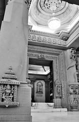Renukeshwar (gauravs82) Tags: portrait blackandwhite bw sculpture india white black temple blackwhite sandstone worship god holy marble shiva hindu shiv diety renukoot renukeshwar