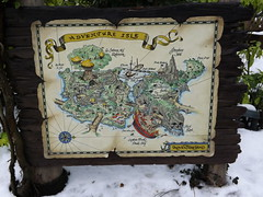 Adventure Isle Map (CoasterMadMatt) Tags: park winter snow paris france weather season french photography  foto photographie photos map snowy euro disneyland magic hiver january kingdom disney resort adventure photographs theme neige blanche temps isle janvier scenes parc franais park adventureland magie disneylandparis conditions saison disneylandresortparis condition parc thme 2013 magic adventureisle theme paris euro disney coastermadmatt disneyland thme