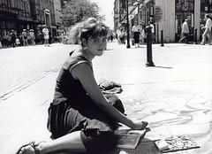 Image titled Street Artist Buchanan Street 1990s