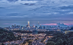 Kuala Lumpur from Bukit Tabur (Sarmu) Tags: city light sunset wallpaper urban building tower skyline architecture night skyscraper lights twilight highresolution asia downtown cityscape view skyscrapers nightshot dusk widescreen petronas landmark icon 1600 malaysia highdefinition resolution 1200 cbd hd bluehour kualalumpur wallpapers kl iconic hdr klcc 1920 menara petronastowers vantage selangor kltower vantagepoint ws petronastwintowers 1080 1050 720p 1080p urbanity menarakl 1680 720 吉隆坡 menarakualalumpur federalterritory 2560 kualalumpurtower bukittabur tamanmelawati menarapetronas 2013 马来西亚 கோலாலம்பூர் மலேசியா sarmu federalterritoryofkualalumpur bukithangus menaraberkembapetronas