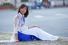 Ti-290 (panerai87) Tags: church vietnam saigon aodai aodaitraditionaldress