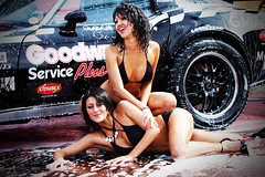 Carwash @ Circuit Zolder (RACEPLAATJES.nl) Tags: girls hot sexy girl race canon soap babe racing carwash babes circuit 70200 paddock zolder gridgirls pitgirls gridgirl pitgirl 40d