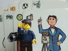 Fotograf (HMM) (captain_joe) Tags: toy cards fotograf lego minifig spielzeug minifigure macromondays 365toyproject legography