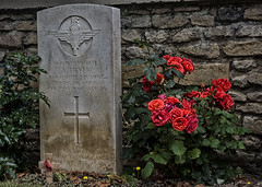 The price of freedom (David Feuerhelm) Tags: churchyard nikkor colour tombstone grave graveyard nikon ranville normandy france d7100