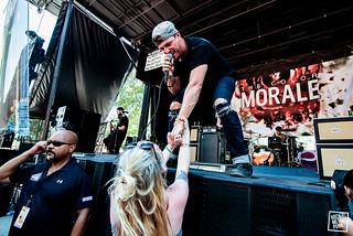 16.07.16 - The Color Morale - Vans Warped Tour Columbia // Shot by Jake Lahah