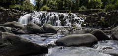 McKay Falls (Mstraite) Tags: statepark park tree broken nature water oregon river waterfall stream dam falls mills straite
