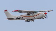 Cessna 210 N7436E (ChrisK48) Tags: 1960 cessna210 n7436e cn57136 dvt kdvt airplane aircraft phoenixdeervalleyairport phoenixaz