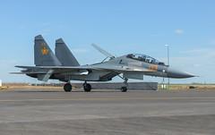 Sukhoi Su-30SM (Boushh_TFA) Tags: sukhoi su30sm su30 30 03 kazakh air defence forces kadex 2016 astana kazachstan international airport tse uacc nikon d600 nikkor 70200mm f28 vrii