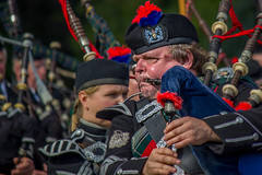Puffing (TheWildFireOne) Tags: band floors castle pipers drummers kilt scotland scottish march pipe 500px